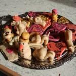 Kunstwerke aus Marzipan