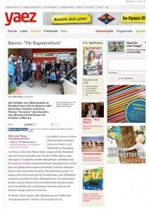 Artikel in Onlinezeitschrift yaez