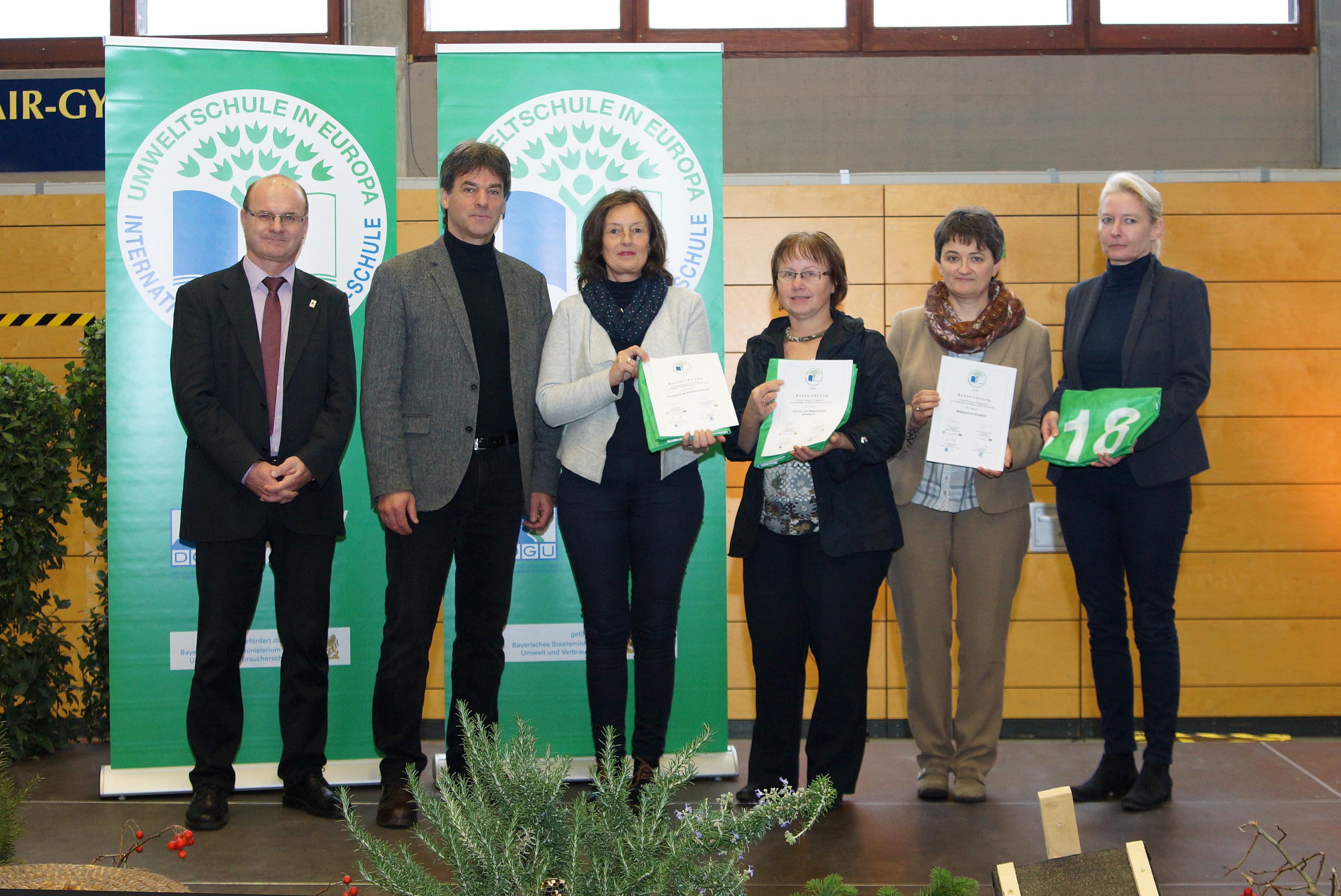 Umweltschule in Europa 2018