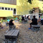 Unterricht im grünen Klassenzimmer